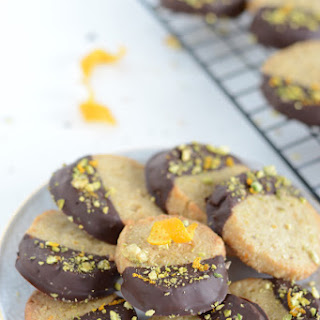 Orange Cookies Dipped In Chocolate Recipes