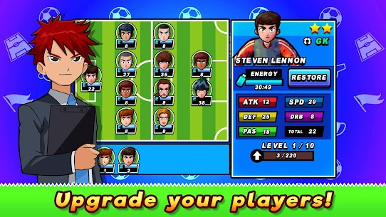 Soccer Heroes 2020 – RPG Football Manager 2