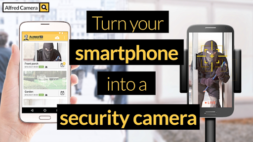 Home Security Camera - Alfred app (apk) free download for Android/PC/Windows screenshot