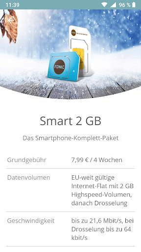 FONIC mobile screenshot 4