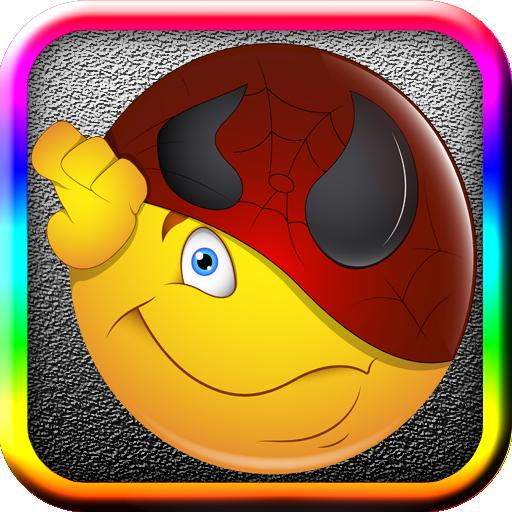通讯のアプリの感情いただきました!のためのステッカー LOGO-記事Game