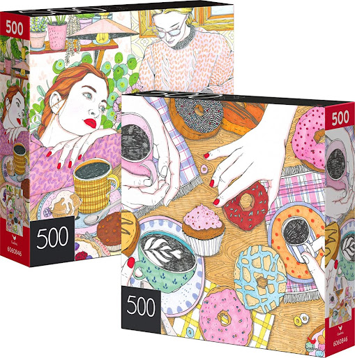 Dreaming Girl & Coffee Time 500-Piece Puzzles 2-Pack Only $5.51 on Amazon (Regularly $15)