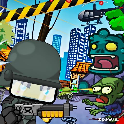 ゾンビ攻撃2対警察 街機 LOGO-玩APPs