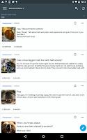 Screenshot of Mimi 4chan Reader (donate)