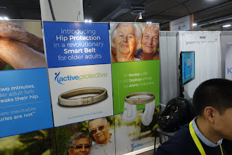 Photo: The most useful IoT innovations come for people with a medical problem.  Here seniors with fragile hips can wear a belt that deploys airbags if they fall.  This was not even the only such belt!
