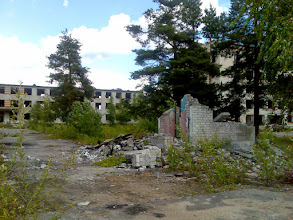 Photo: Varuskunta-alueelta
