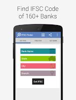 Screenshot of Find Bank IFSC MICR RTGS Code