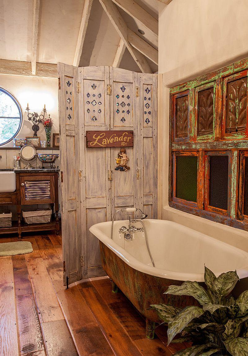 Nhà tắm với phong cách vintage mới lạ