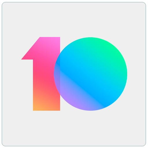 MIUI 10 - Limitless icon pack and theme