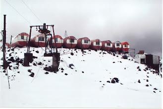 Photo: Botschki, feste Bergsteigerunterkunft auf 3750 m