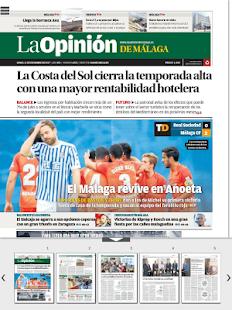 Kiosco La Opinión de Málaga - náhled