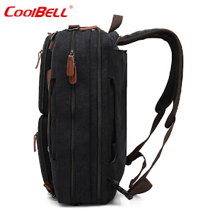 Geanta multifunctionala laptop CoolBELL, 15.6 inch