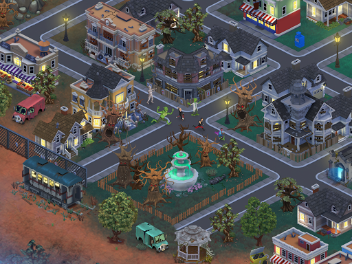 Download Goosebumps HorrorTown - Monsters City Builder For Android