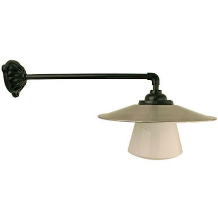 Stationslampa 90 grader rak koppling