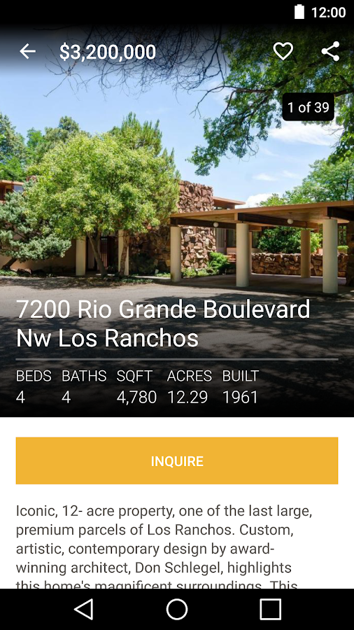 NewMexicoHomeSearch.com- screenshot