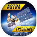 Astra satellite frequency icon