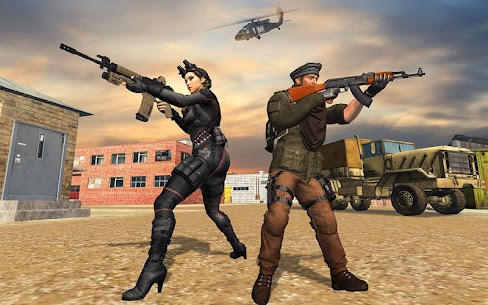The Immortal squad 3D: Ultimate Gun shooting games 1