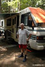 Photo: An RV camper at Fort Dummer State Park