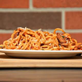Steak Spaghetti.