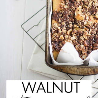 Walnut Streusel Bread
