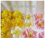 Peony flower : Jeanette's Cake Creations