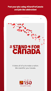 #StandForCanada- screenshot thumbnail