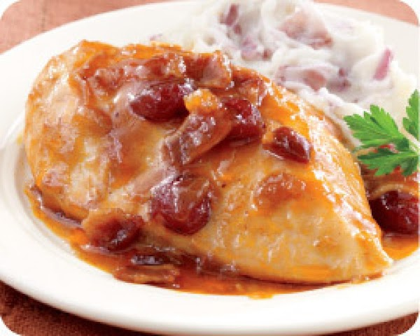 Chicken With Cranberry Sauce Recipe
