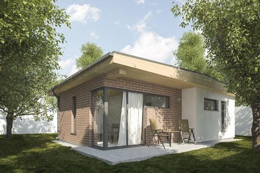 projekt G255 - Budynek rekreacji indywidualnej