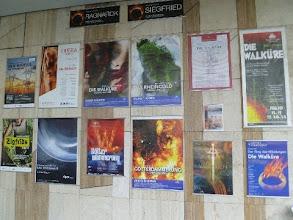 Photo: Die Ausstellung von WAGNER-POSTERN des Merker-Redakteurs Dr. Klaus Billand ist noch bis 23. Juni 2013 im Budapester Palast der Künste zu sehen. Foto: Klaus Billand