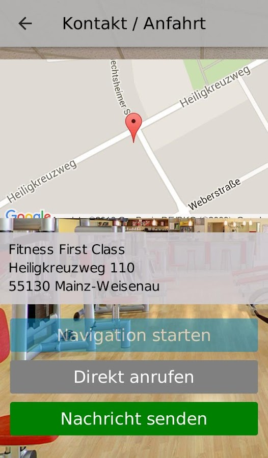 Fitness First Class- screenshot