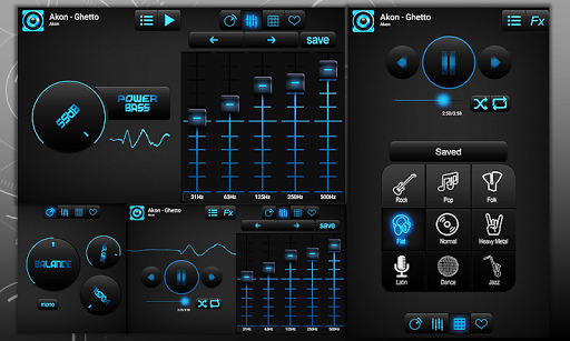 Bass Booster and Equalizer screenshot