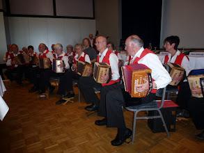 Photo: s'Oergelihuus als Abschluss.Die Grossformation Tschoppehof ist stolz, dass sie diesen Anlass umrahmen durften