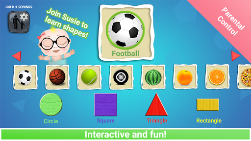 Kids Learn Shapes - Preschooler Education Game 1.0.20 screenshots 6