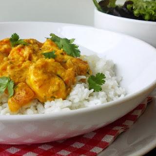 Shrimp Curry With Thai Jasmine Rice.