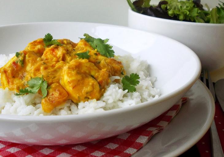 Shrimp Curry With Thai Jasmine Rice