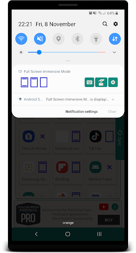Download Fullscreen Immersive - No Ads, No Root 2.7 2