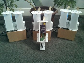open-source air quality stations from ManyLabs