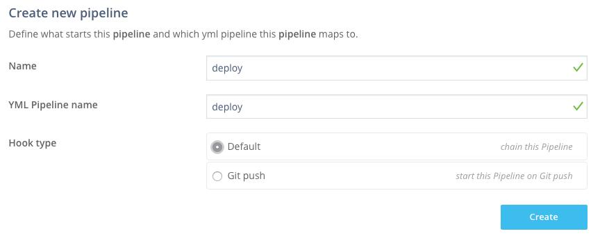 Wercker pipeline