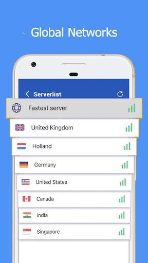 Barando VPN - Super Fast Proxy, Secure Hotspot VPN  image 4
