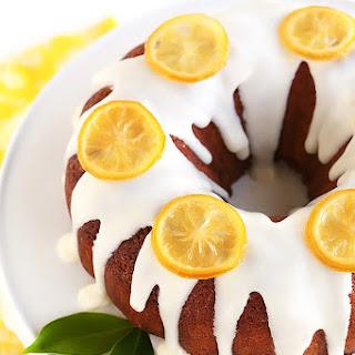 Lemony Lemon Bundt Cake