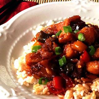 Chinese Lemon Raspberry Chicken