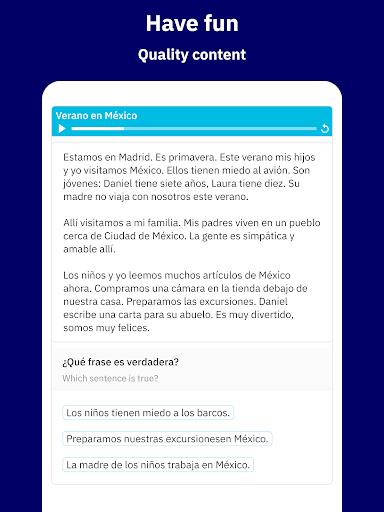 Learn Spanish - Español screenshot 13