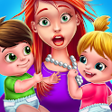 Babysitter First Day Mania - Baby Care Crazy Time icon