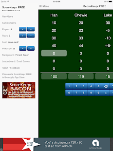 Score Keeper FREE- screenshot thumbnail