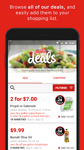 Hy-Vee – Coupons, Deals & more Screenshot