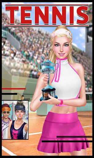선샤인 스포티 한 여자: 테니스