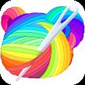Cross Stitch - Draw Sandbox Pixel Art icon