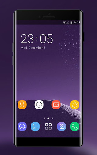 Download Theme for Samsung galaxy note 8 HD Launcher 2018