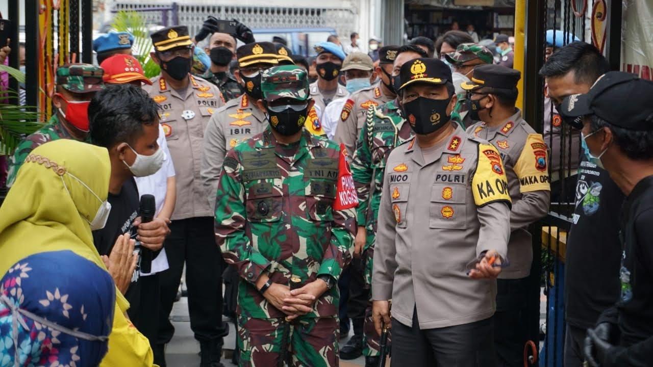 Kunjungi Kampung Tangguh Semeru, Kapolda Jatim Beri Motivasi Warga Perangi Covid-19