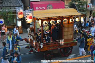 Photo: 【平成19年(2007) 宵宮】 上溝駅前通りを行く。